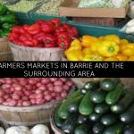 Farmers markets around the Barrie area