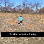 I love Fall! Fun things to do with the family in the Fall